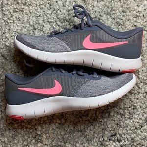 Nike | Flex Contact Running Shoe New 7Y